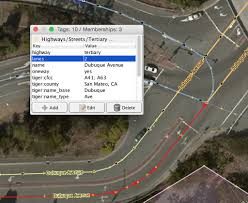 Flow Line Map Definition Mapping Turn Lanes In Openstreetmap U2013 Points Of Interest