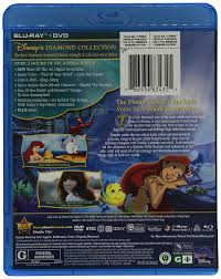 amazon com the little mermaid diamond edition blu ray dvd