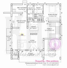 h house plans house plan of beautiful contemporary home kerala design and floor