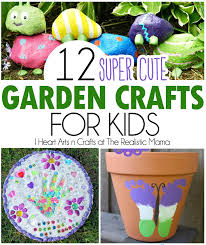 Pinterest Gardening Crafts - 12 super cute garden crafts for kids the realistic mama