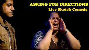 asking for directions live sketch comedy youtube