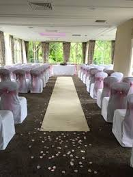 ivory aisle runner craxton wood wedding with aisle runner white chair covers