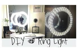best ring light mirror for makeup easy makeup diy ring light for beginners diy ring light easy