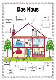 Schlafzimmer Englisch Vokabeln 315 Kostenlose Daf Wohnen Arbeitsblätter