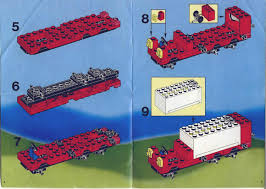 lego truck instructions lego l s hook and ladder truck instructions 6480 rescue