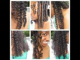 stranded rods hairstyle 6 natural hair styles and curls flexi rods 2 and 3 strand twist