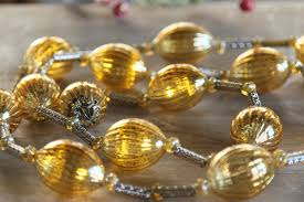 mercury glass string lights battery operated twinkling gold mercury glass led string lights