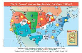 Farmers Almanac Florida The Old Farmer U0026amp 39 S Almanac 2013 Weather Predictions Mild