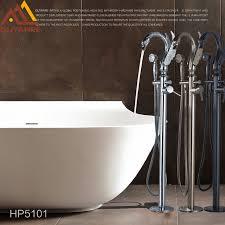 Swan Bathroom Faucet Aliexpress Com Buy Quyanre Bathtub Faucet Swan Style Rotation