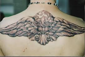 wing back tattoos for guys angel tattoos google search projects to try pinterest big