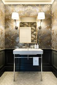 powder rooms with wallpaper ma residence traditional powder room sydney by karen aston