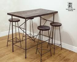 High Bar Table And Stools Best 25 High Bar Table Ideas On Pinterest Kitchen Throughout With