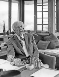 frank lloyd wright at taliesin spring green wisconsin 1955