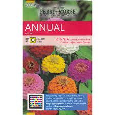 cheap seed packets shop ferry morse zinnia lilliput mixed colors flower seed packet