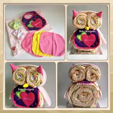 kidselle i will make a diaper cake olivia the owl for your