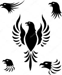 eagle head tattoo u2014 stock vector idesign2000 11057637