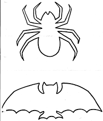 Bat Halloween Craft by Halloween Crafts Bats Template Pattern Clip Art Library