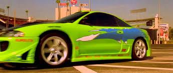 mitsubishi green wheels gt racing board videogame brian o u0027connor u0027s iconic