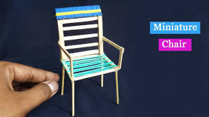 diy popsicle stick chair easy craft for kids youtube