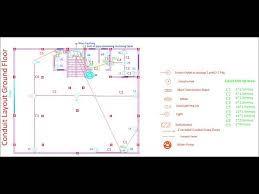 electrical wiring using autocad youtube
