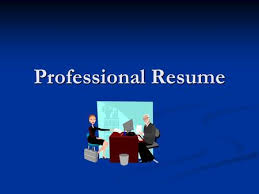 What Is The Purpose Of A Resume Writing An Effective Resume What Is A Resume A Marketing Tool A