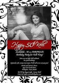 template printable 50th birthday invitations south africa with