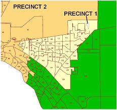 El Paso Zip Code Map by Commissioner Precinct 1 Epcounty Com
