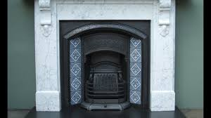 fireplace with marble surround youtube