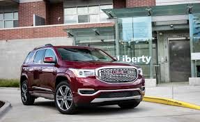 nissan s cargo engine 2018 gmc acadia in depth model review car and driver