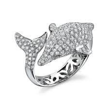 dolphin engagement ring dolphin ring stuff i want ring