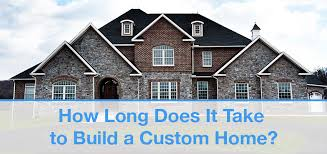 build a custom home home building timeline how long does it take sdl custom homes
