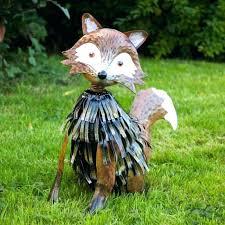 cat garden ornament piccha