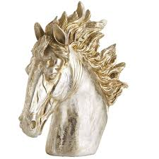 Horse Curtain Rod by Champagne Patina Horse Head Pier 1 Imports