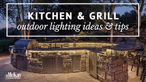 outdoor kitchen lights outdoor kitchen grill lighting ideas