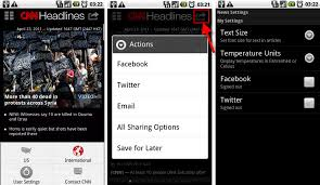 cnn app for android cnn launches the free android app joins the bandwagon