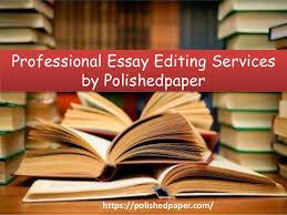 professional essay editing