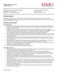 project coordinator resume fil a description for resume best of project