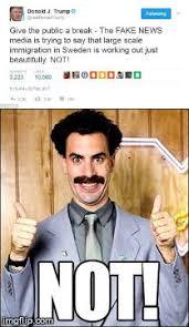 Borat Not Meme - borat imgflip