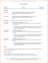 best resume template for recent college graduate resume template for college graduates no experience new sle