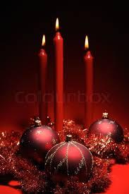 Christmas Decoration Theme - red christmas decoration theme three red baubles and three red