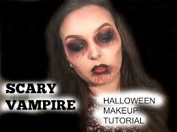 vampire makeup tutorial halloween 2015 scary vampire makeup