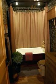 bathroom shower curtain ideas favorable bathroom curtains design ideas delightful rustic shower