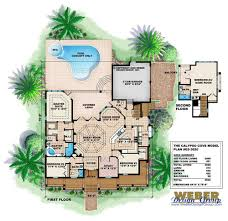 Florida Home Floor Plans Extraordinary 70 Colored House Floor Plans Decorating Design Of