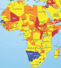 Africa Map by World Threat Map 2017 U2013 Riskmap Result Group Gmbh