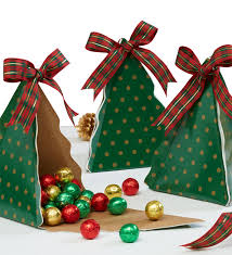 christmas boxes set of three christmas tree gift boxes from 1 800 flowers