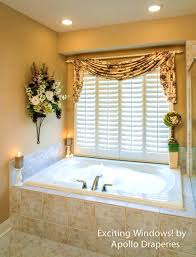 accessories prepossessing bathroom window treatments curtains