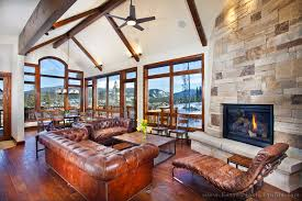 mountain home interiors ski chic mountain retreats boston design guide