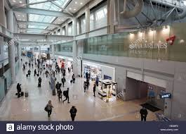 inside the terminal at incheon international airport icn the