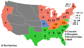 map us states during civil war the election of 1860 was when unionist wanted to stay with the