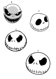 nightmare before christmas jack and sally drawings get coloring